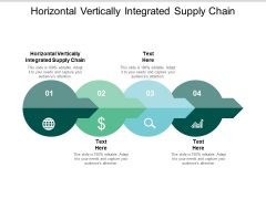 Horizontal Vertically Integrated Supply Chain Ppt PowerPoint Presentation Infographic Template Layouts Cpb