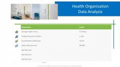 Hospital Administration Health Organisation Data Analysis Ppt Inspiration Maker PDF