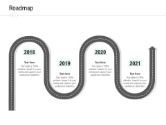 Hospital Management Roadmap Ppt Gallery Ideas PDF