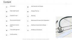 Hospital Management System Content Summary PDF