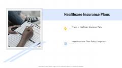 Hospital Management System Healthcare Insurance Plans Sample PDF