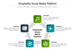 Hospitality Social Media Platform Ppt PowerPoint Presentation Ideas Files Cpb Pdf