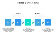 Hosted Server Pricing Ppt PowerPoint Presentation Show Model Cpb