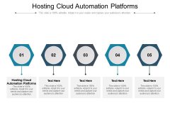 Hosting Cloud Automation Platforms Ppt PowerPoint Presentation Show Structure Cpb Pdf
