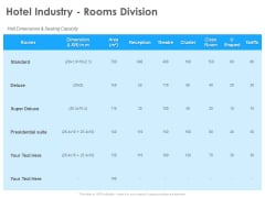 Hotel And Tourism Planning Hotel Industry Rooms Division Clipart PDF