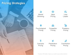 Hotel And Tourism Planning Pricing Strategies Formats PDF