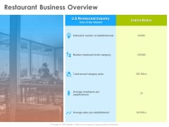 Hotel And Tourism Planning Restaurant Business Overview Topics PDF