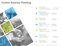 Hotel And Tourism Planning Tourism Business Planning Structure PDF