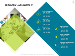 Hotel Management Plan Restaurant Management Download PDF