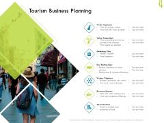 Hotel Management Plan Tourism Business Planning Download PDF