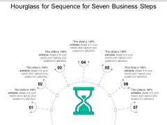 Hourglass For Sequence For Seven Business Steps Ppt PowerPoint Presentation Gallery Infographics PDF