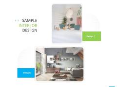 House Decoration Proposal Sample Interior Design Ppt Deck PDF