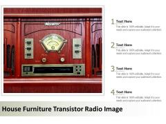 House Furniture Transistor Radio Image Ppt PowerPoint Presentation Professional Graphics Download PDF
