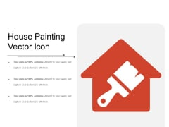 House Painting Vector Icon Ppt PowerPoint Presentation Outline Show PDF
