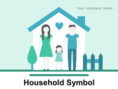 Household Symbol Family Member Affection Icon Ppt PowerPoint Presentation Complete Deck