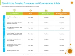 How Aviation Industry Coping With COVID 19 Pandemic Checklist For Ensuring Passenger And Crewmember Safety Ideas PDF