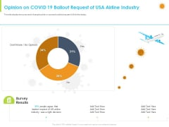 How Aviation Industry Coping With COVID 19 Pandemic Opinion On COVID 19 Bailout Request Of USA Airline Industry Sample PDF