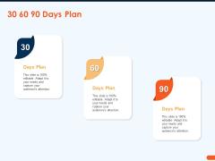 How Increase Sales Conversions Retargeting Strategies 30 60 90 Days Plan Portrait PDF