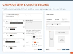 How Increase Sales Conversions Retargeting Strategies Campaign Setup And Creative Building Summary PDF
