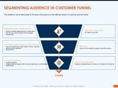 How Increase Sales Conversions Retargeting Strategies Segmenting Audience In Customer Funnel Diagrams PDF