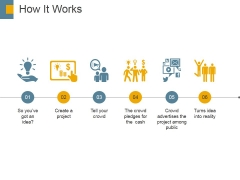 How It Works Ppt PowerPoint Presentation Inspiration Elements