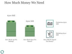 How Much Money We Need Ppt PowerPoint Presentation Graphics