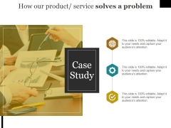 How Our Product Service Solves A Problem Ppt PowerPoint Presentation Inspiration Format Ideas