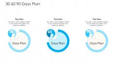 How To Build A Revenue Funnel 30 60 90 Days Plan Brochure PDF