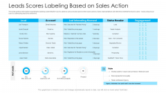 How To Build A Revenue Funnel Leads Scores Labeling Based On Sales Action Guidelines PDF