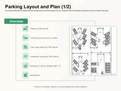 How To Effectively Manage A Construction Project Parking Layout And Plan Vehicles Sample PDF