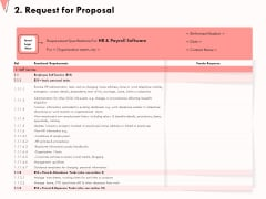 How To Strengthen Relationships With Clients And Partners 2 Request For Proposal Ppt Ideas Outline PDF