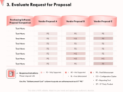 How To Strengthen Relationships With Clients And Partners 3 Evaluate Request For Proposal Microsoft PDF