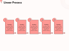 How To Strengthen Relationships With Clients And Partners Linear Process Ppt Outline Templates PDF
