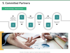 How Transform Segments Company Harmony And Achievement 5 Committed Partners Mockup PDF