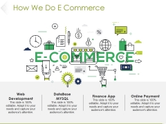 How We Do E Commerce Ppt PowerPoint Presentation Professional Information