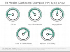 Hr Metrics Dashboard Examples Ppt Slide Show