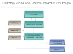 Hr Strategy Vertical And Horizontal Integration Ppt Images