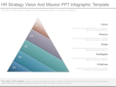 Hr Strategy Vision And Mission Ppt Infographic Template