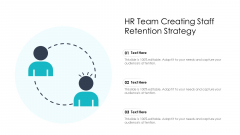 Hr Team Creating Staff Retention Strategy Ppt Outline Topics PDF
