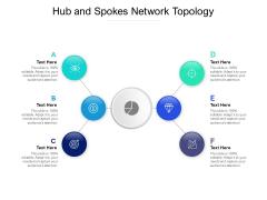 Hub And Spokes Network Topology Ppt PowerPoint Presentation Portfolio Mockup