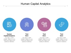 Human Capital Analytics Ppt PowerPoint Presentation Professional Design Inspiration Cpb