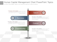 Human Capital Management Chart Powerpoint Topics