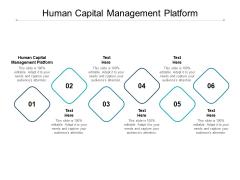 Human Capital Management Platform Ppt PowerPoint Presentation File Background Image Cpb