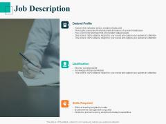 Human Capital Management Procedure Job Description Ppt Show Mockup PDF