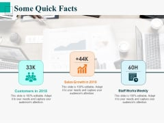 Human Capital Management Procedure Some Quick Facts Ppt Infographics Professional PDF