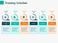 Human Capital Management Procedure Training Schedule Ppt Infographics PDF