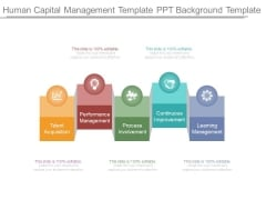 Human Capital Management Template Ppt Background Template