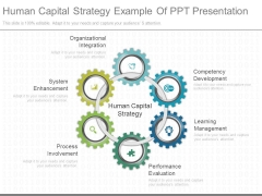 Human Capital Strategy Example Of Ppt Presentation