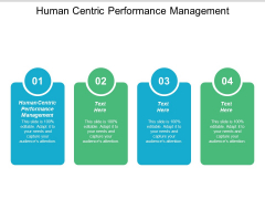 Human Centric Performance Management Ppt PowerPoint Presentation Icon Templates Cpb