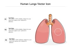 Human Lungs Vector Icon Ppt PowerPoint Presentation File Backgrounds PDF